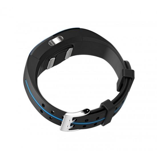 Розумний фітнес браслет Lemfo P3 Plus з ЕКГ і тонометром (Синій)